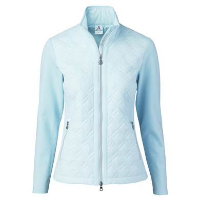 Daily Sports Quilted Even Jacket- Blue Breeze
