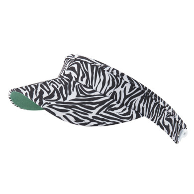 Daily Sports Ladies Kiara Telephone Wire Visor - Zebra