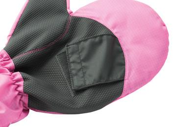 Ladies Golf One Size Warm Winter Mitts - Black