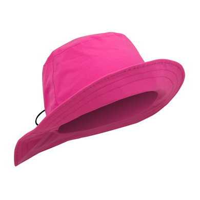 Ladies Golf Waterproof Rain Hat- pink