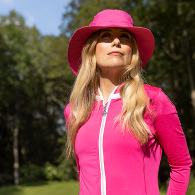 Ladies Golf Waterproof Rain Hat- pink