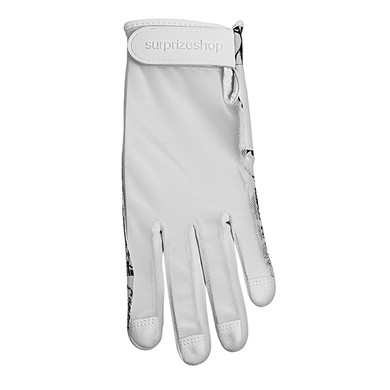 All Weather Ladies Golf Mesh Sun Glove- Black