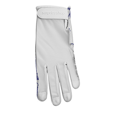 All Weather Ladies Golf Mesh Sun Glove- Navy
