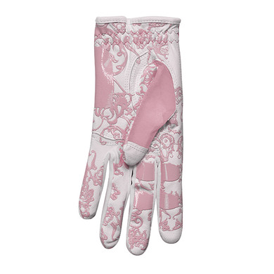 All Weather Ladies Golf Mesh Sun Glove- Pink