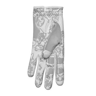 All Weather Ladies Golf Mesh Sun Glove- Grey