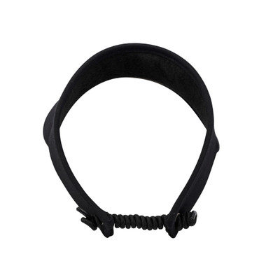Ladies Golf Telephone Wire Visor with Ball Marker - Black