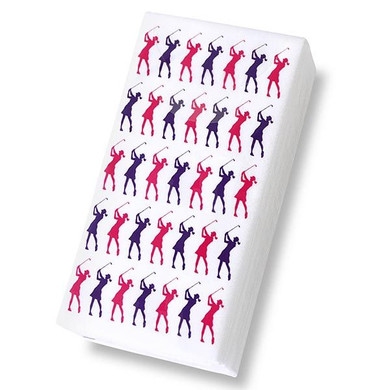 Lady Golfer Tissues (10 Tissues)