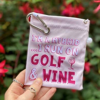 I'm a Hybrid Ladies Golf Tee & Accessory Bag