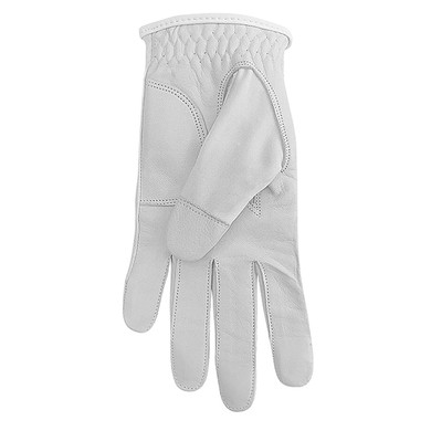 Cabretta Leather Lycra Comfort Stretch Ladies Golf Glove - Grey Feather