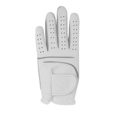 Elegance All Weather Ladies  Golf Glove- White