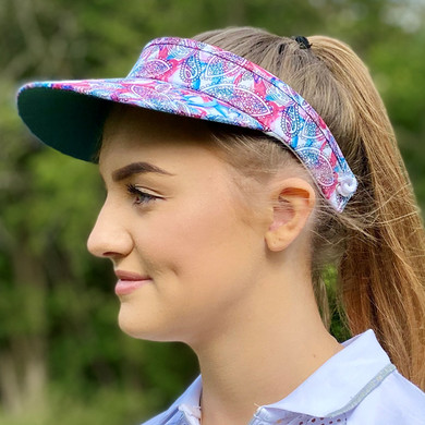 Daily Sports Paisley Telephone Wire Visor
