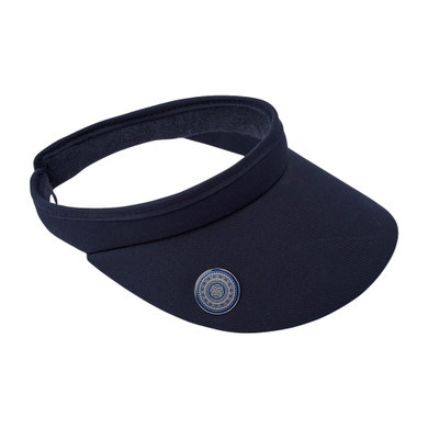 Ladies Golf Clip Visor with Ball Marker - Navy