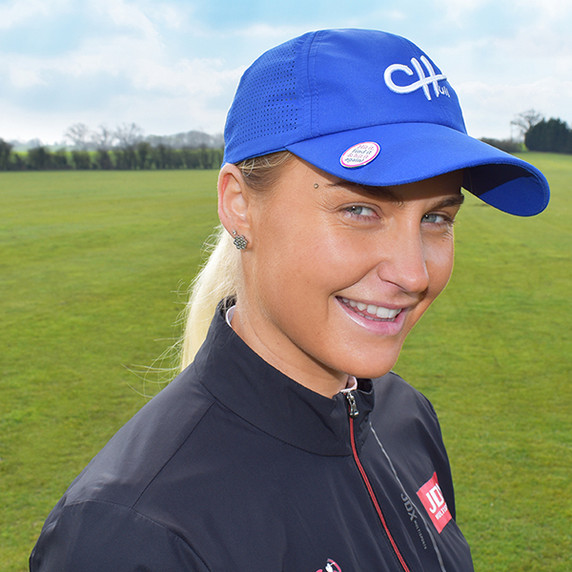 Ladies Golf Charley Hull Official Collection Golf Cap - Blue