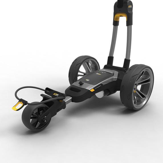 PowaKaddy CT6 GPS  18 Hole Lithium Electric Trolley 2021 - Gun Metal