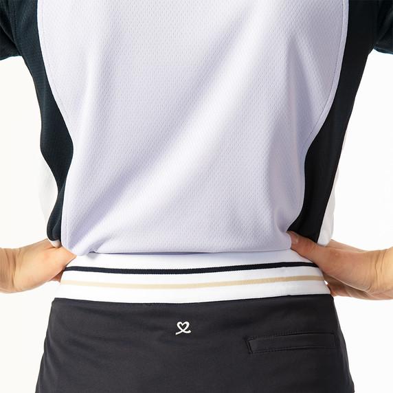 Daily Sports Zenia Sleeveless Polo Shirt - Salvia