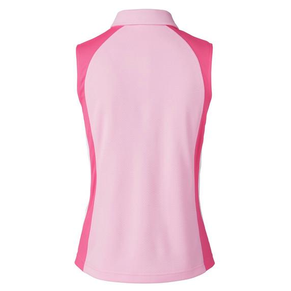 Daily Sports Zenia Sleeveless Polo Shirt - Lipstick
