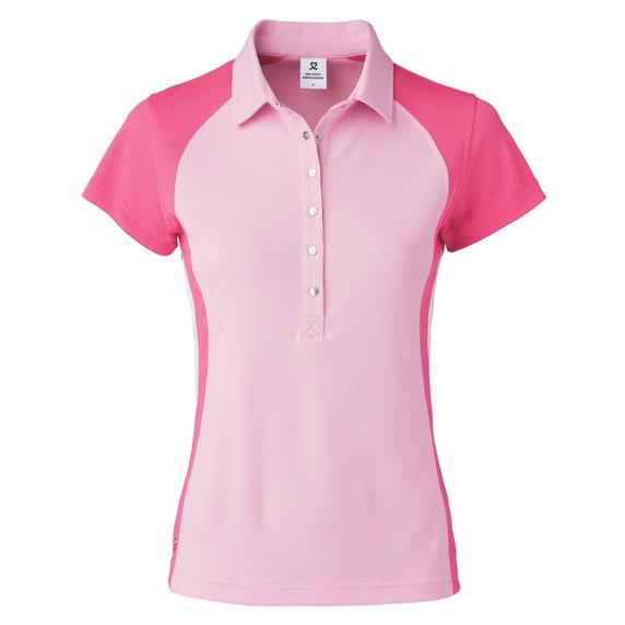 Daily Sports Zenia Cap Sleeve Polo Shirt - Lipstick