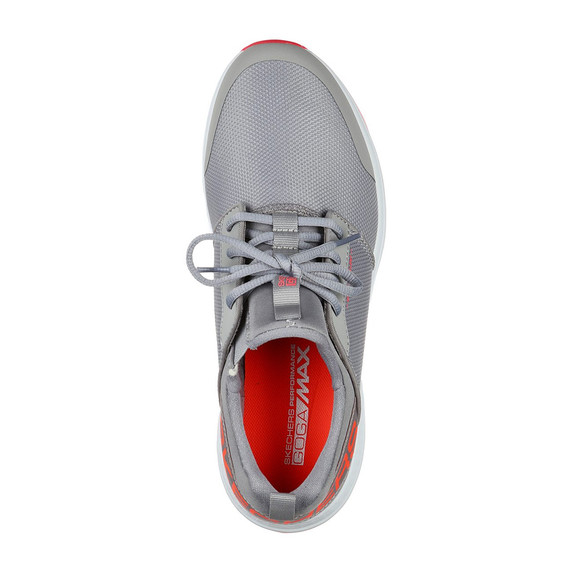 Skechers Ladies Go Golf Max Sport Spikeless Golf Shoes - Grey and Coral