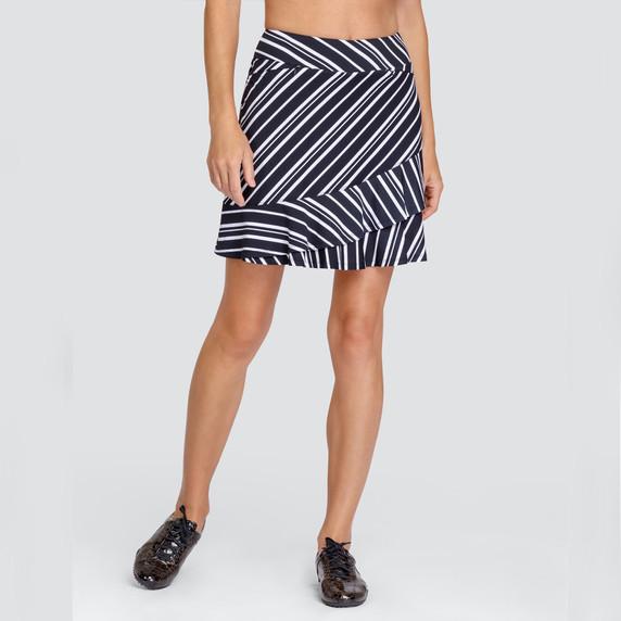 Tail Ladies Golf Pull On Kiana Skort 45 CM- Spar Stripe