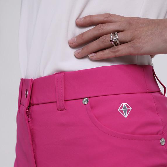 Pure Golf Ladies Calm Skort 50CM- Hot Pink
