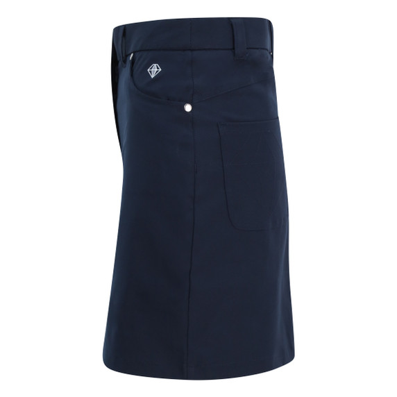 Pure Golf Ladies Calm Skort 50CM- Navy