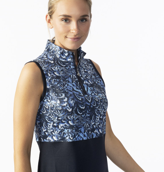 Daily Sports Ladies Silja Sleeveless Dress- Navy