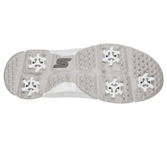 Skechers Junior Girls Go Golf Finesse Waterproof Golf Shoes- White