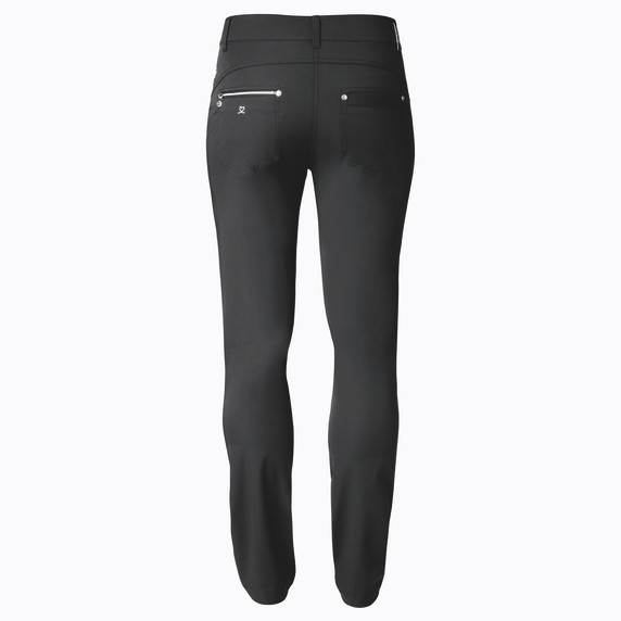 Daily Sports Womens Golf Trousers Miracle 29 Inch Black - Rear