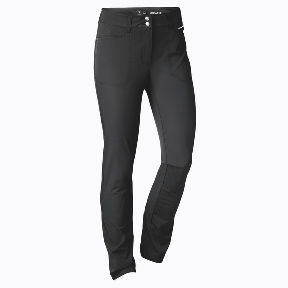 Daily Sports Womens Golf Trousers Miracle 29 Inch Black - Front