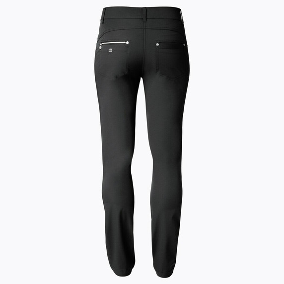 Daily Sports Womens Golf Trousers Miracle 32 Inch Black - Rear