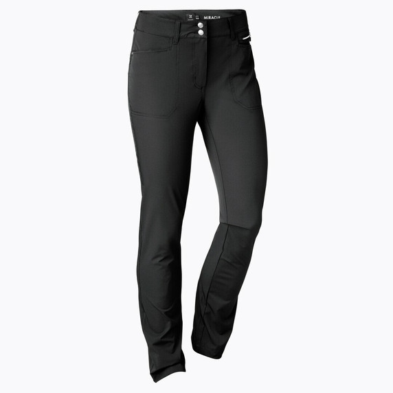 Daily Sports Womens Golf Trousers Miracle 32 Inch Black - Front