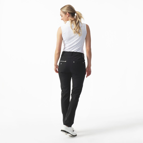 Daily Sports Womens Golf Trousers Miracle 32 Inch Black - Rear Lifestyle