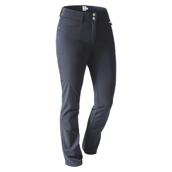 Daily Sports Womens Golf Trousers Miracle 29 Inch Navy - Front