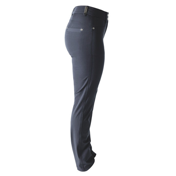 Daily Sports Womens Golf Trousers Miracle 29 Inch Navy - Side