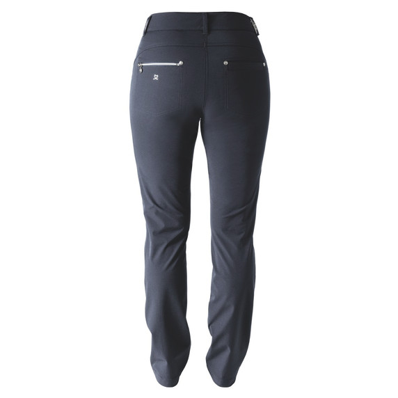 Daily Sports Womens Golf Trousers Miracle 29 Inch Navy - Rear