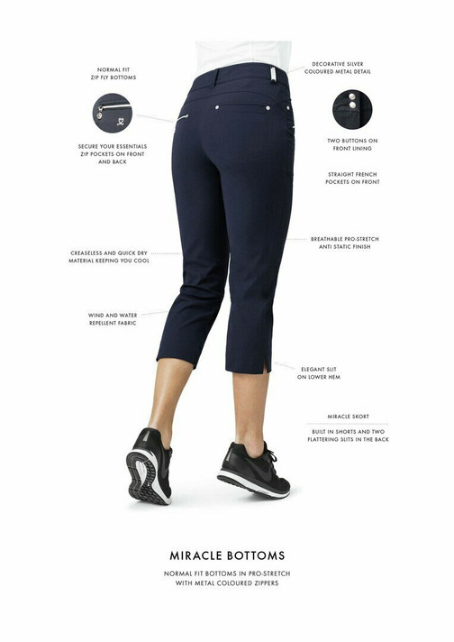 Daily Sports Miracle Trouser 29 Inch - Navy