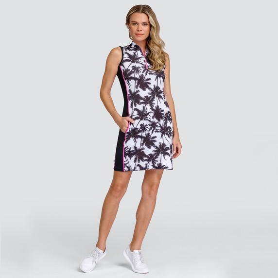 Tail Ladies Golf Jazlyn Sleeveless Dress - Palm View