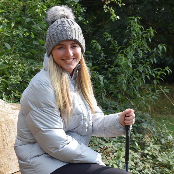 Surprizeshop Waterproof  Golf Bobble Hat - Grey