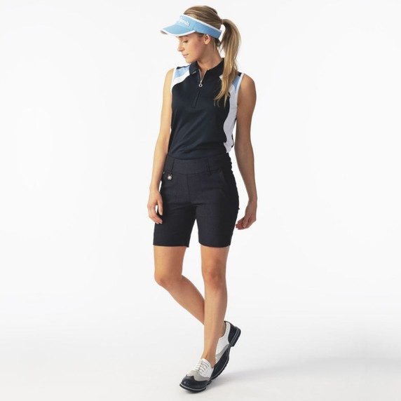 Daily Sports Magic Navy Shorts Ladies Golf 44 CM - Lifestyle Front