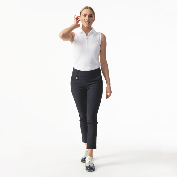 Daily Sports Magic Navy Ankle Trouser Ladies Golf 94 CM - Front Lifestyle