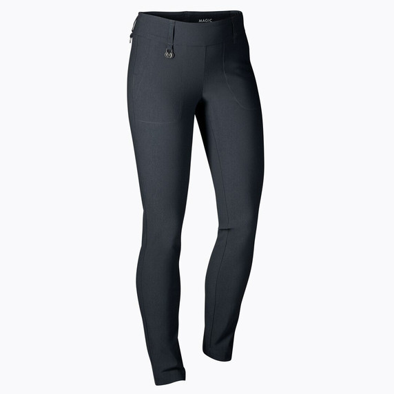 Daily Sports Magic Navy 32 Inch Trouser Ladies Golf - Front