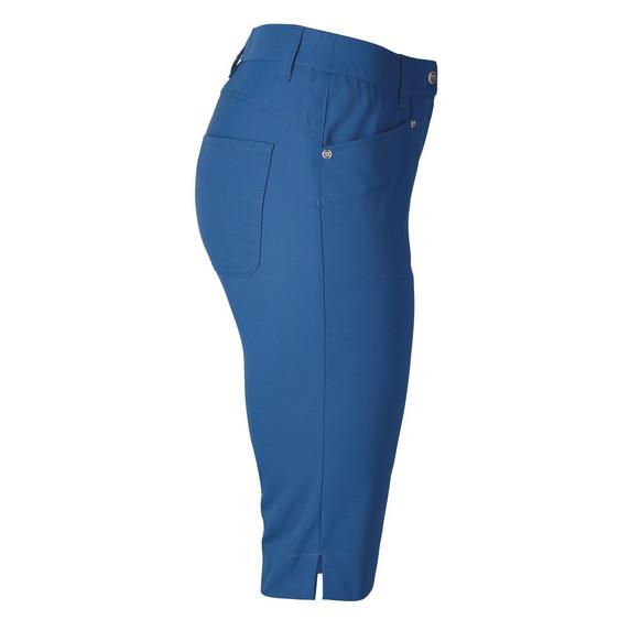 Daily Sports Knee Lengh Lyric City Golf Shorts 62 CM Night Blue - Side