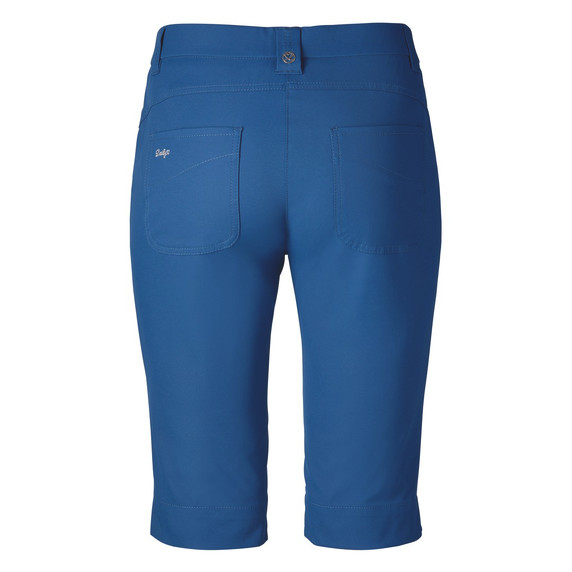 Daily Sports Knee Lengh Lyric City Golf Shorts 62 CM Night Blue - Rear