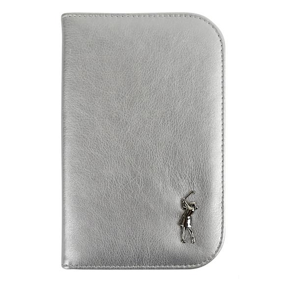Ladies Silver Golf Scorecard Holder