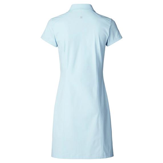 Daily Sports Lyric Cap Sleeve Dress- Blue Breeze