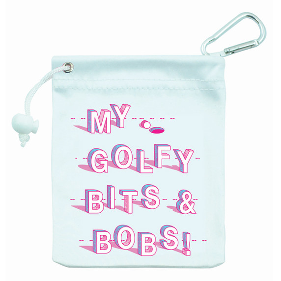 My Golfy Bits and Bobs Ladies Golf Tee & Accessory Bag