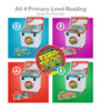 PA-111 All 4 Primary Level Reading Family Fun-Pack Sets: R, P, A, & B
