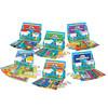 BD-700 Bundle Deal:  ALL 6 Math Frog Super Learning Center Game Sets PK-5