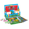 BD-900 Bundle Deal:  ALL 16 Frog Super Learning Center Game Sets - 6 Reading, 6 Math, 1 ea of Know the USA, Spanish/English Basic Vocabulary, Frog Pondering Thinking Skills Set, Hispanic American Achievers Set - PK-5
