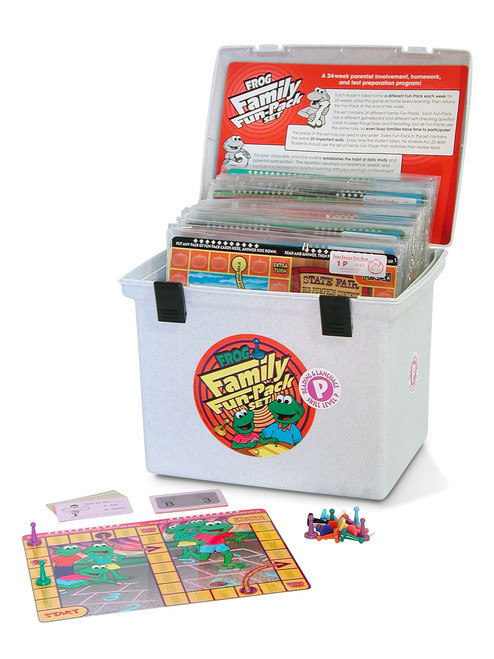 PA-633 Family Fun-Pack Game Set - Level P Reading (for beginning readers)